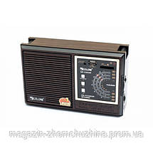 Радио RX 133 с пультом,Бумбокс MP3 Колонка Радио-приемник RX-133 с пультом, фото 2