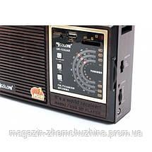 Радио RX 133 с пультом,Бумбокс MP3 Колонка Радио-приемник RX-133 с пультом, фото 3