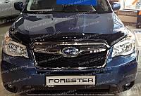 Дефлектор Субару Форестер 4 (мухобойка на капот Subaru Forester 4)