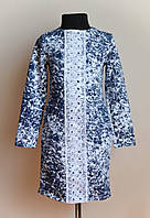 Детское платье с кружевом 134 размер