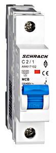 Автоматический выключатель Schrack 6кА 1Р 4А х-ка С