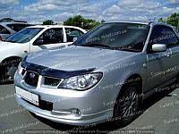 Дефлектор Субару Импреза 3 (мухобойка на капот Subaru Impreza 3)