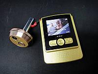 Видеоглазок в дверь с записью на microSD