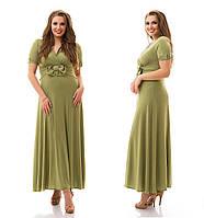 Яркое платье большого размера