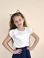 Футболка-блузка для девочки, Breeze .