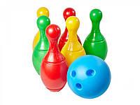 Набор для боулинга, кегли+шар Технок 2780