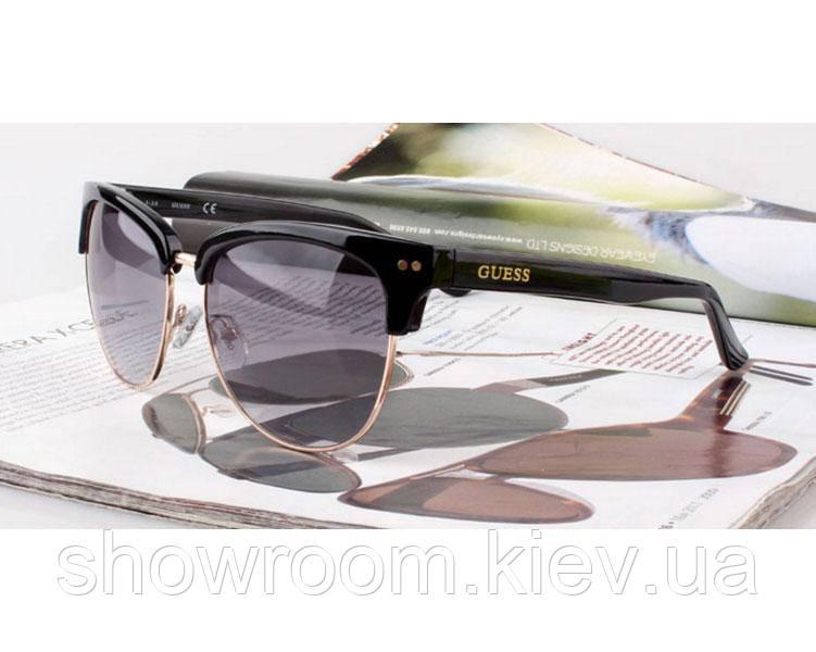Солнцезащитные очки в стиле Guess (GUF 0283 black) Lux