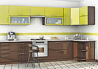 Кухня мокко-лайм, изготовление вариант-025, фото 1