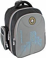 """Красивый школьный рюкзак EVA фасад 15"""" Skyscraper 733 15 л Cool for school CF85835, серый"""