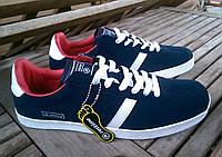 Кроссовки из натуральной замши Restime. Копия Adidas. 42 раз