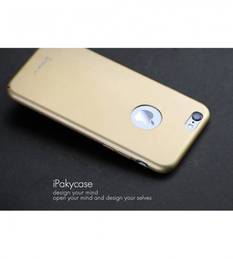 "Чехол iPaky Metal Plating Series для Apple iPhone 6/6s (4.7"") Золотой"