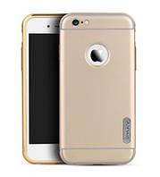 "Чехол iPaky Metal Frame Series для Apple iPhone 6/6s plus (5.5"") Золотой"