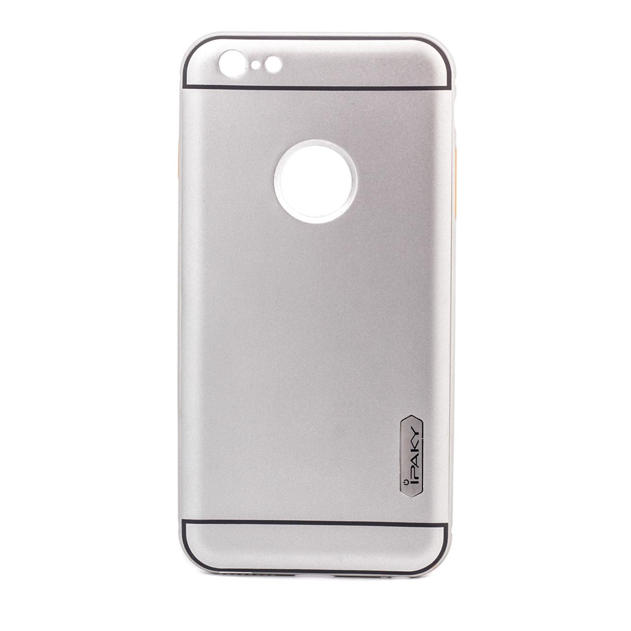 "Чехол iPaky Metal Frame Series для Apple iPhone 6/6s plus (5.5"") Серебряный"
