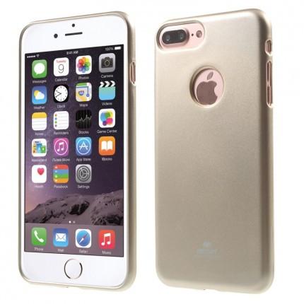 "TPU чехол Mercury Jelly Color series для Apple iPhone 7 / 8 (4.7"") Золотой"