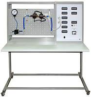 """Стенд """"Дросселирование. Течение газов в суживающем сопле. Течение газа в сопле Лаваля с МПСО"""" НТЦ-14.61"""