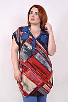 Женская блузка летняя свободного кроя новинки от производителя