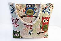 Молодежная сумка с совами