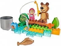 Конструктор Маша и Медведь на рыбалке Big 57089