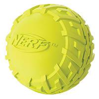 Игрушка Hagen Nerf Tire Squeak Ball для собак средняя, 7,6 см