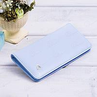Недорогой кошелек женский c тремя отделениями T5083-027light_blue