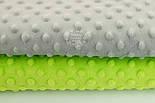 Плюш minky светло-зелёного цвета, фото 3
