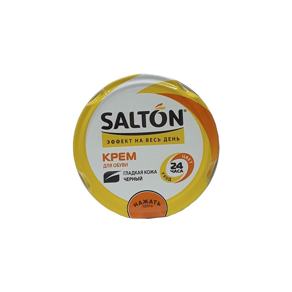 Крем для обуви Salton гладкая кожа Черный
