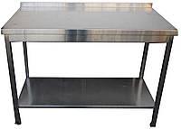Изделия из нержавеющей стали - Стол с полкой ( 1200х600х850)