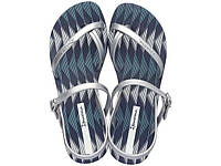 Женские летние сандалии Ipanema Fashion Sand IV Fem Blue/Silver 81929-21345