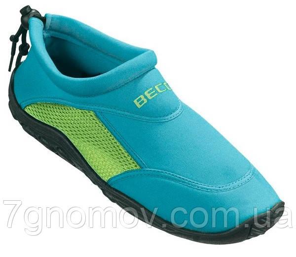 Тапочки для кораллов, аквашузы, обувь для плавания, дайвинга, серфинга BECO 9217 668