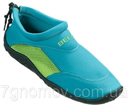 Тапочки для кораллов, аквашузы, обувь для плавания, дайвинга, серфинга BECO 9217 668, фото 2