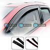 Дефлектор окон Fiat Doblo 2010->(вставные)