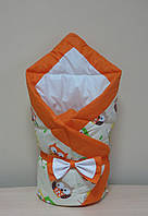 Конверт-одеяло оранжевый
