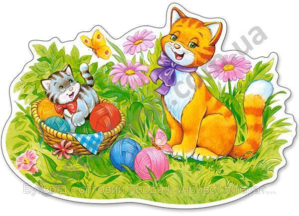 Пазлы Castorland Maxi 120123 Кошачья семья