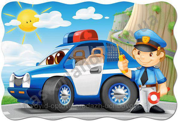 Пазлы Castorland Maxi 02252 Полицейский патруль