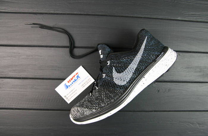 Кроссовки мужские Nike Flyknit Lunar 3+ / FLM-057