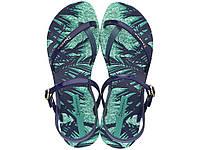 Женские летние сандалии Ipanema Fashion Sand IV Fem Green/Blue 81929-22497
