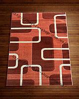 Современные ковры на пол терракотового цвета разных форм   2023