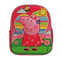 Детский рюкзак Пеппа 3Д Дошкольный