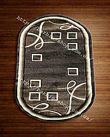 Ковры на пол с геометрическим рисунком 3016
