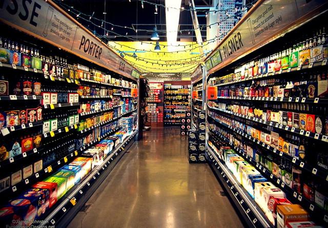 Продающее освещение для продовольственных магазинов как способ повышения продаж