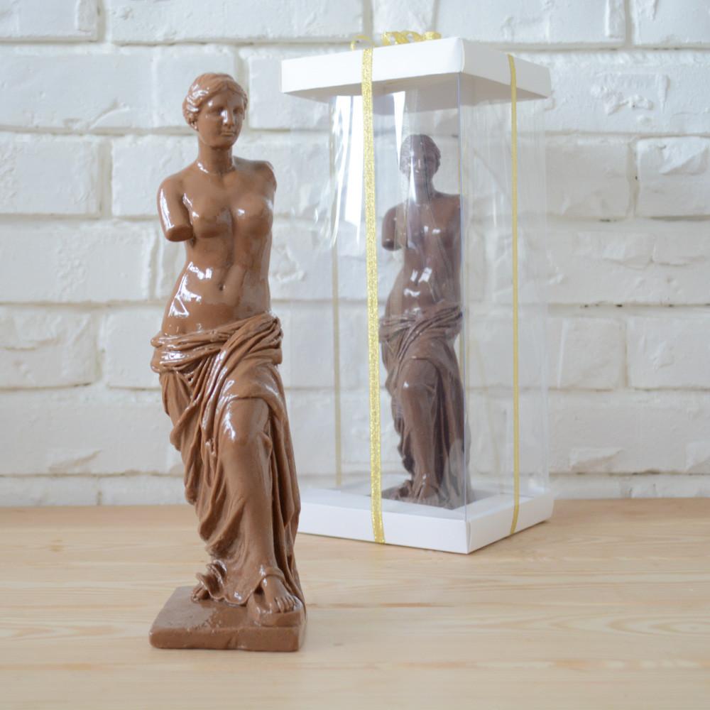 """Шоколадная фигура """"Венера Милосская"""" молочная ЭЛИТНОЕ сырье. Размер: 75х67х262мм, вес 600г, фото 1"""