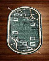 Современные напольные ковры зеленого цвета 3016