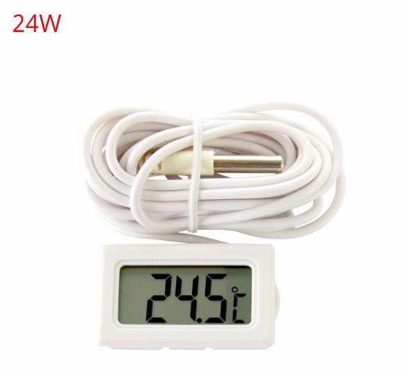 Термометр цифровой (-40/+70°C) 24W White Lithium Battery