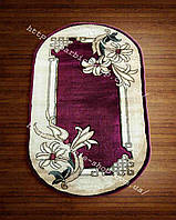 Напольные ковры в с цветочным рисунком  3032