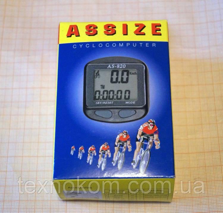 Велокомп'ютер ASSIZE AS-820