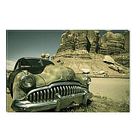 Светящиеся Картины Startonight Старый Автомобиль Ретро ВинтажПечать на Холсте Декор стен Дизайн Интерьер