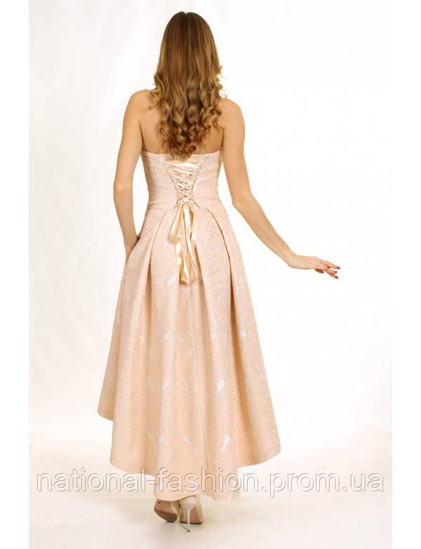 7be820c013d Вечерние платье из жаккарда с корсетом G2088A (р.34-42euro)