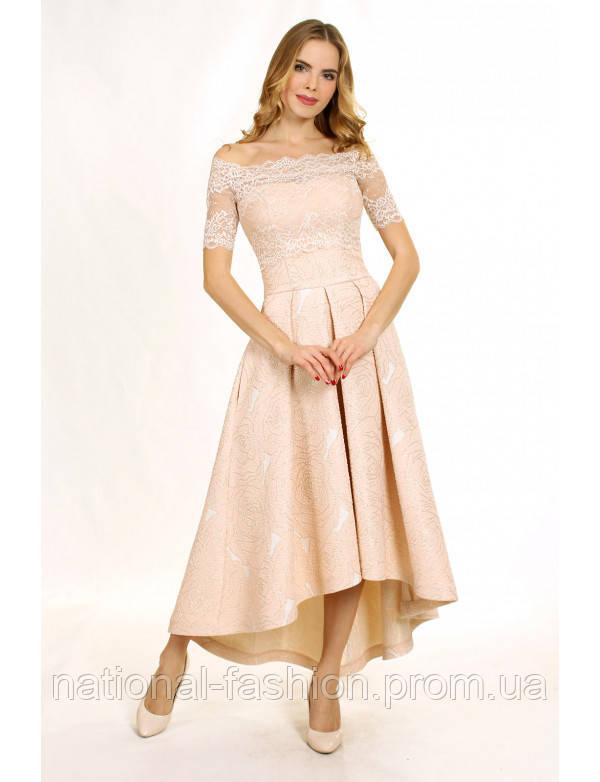 fb7b14b7e44 Вечерние платье из жаккарда с корсетом G2088A (р.34-42euro) - Интернет