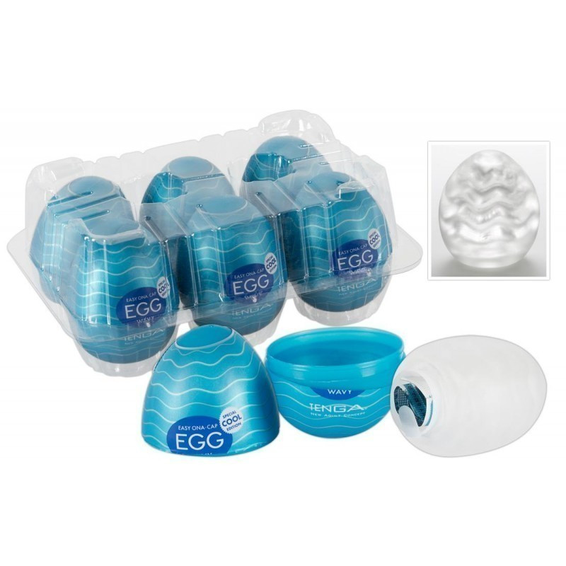 Набор яиц Tenga Egg Cool Pack