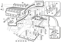 Шатун левый пресс-подборщика Supertino/ППТ-1270 SR02519A